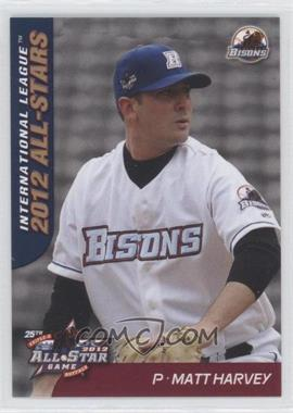 2012 Choice International League All-Stars #10 - Matt Harvey