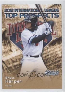 2012 Choice International League Top Prospects - [Base] #13 - Bryce Harper