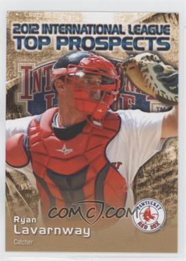 2012 Choice International League Top Prospects - [Base] #17 - Ryan Lavarnway