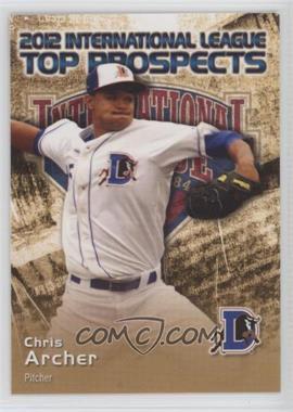 2012 Choice International League Top Prospects #1 - Chris Archer