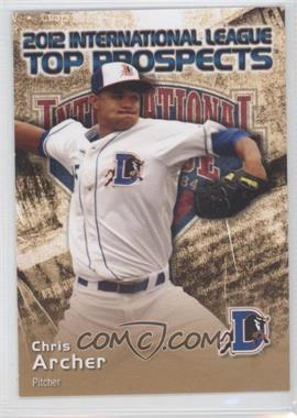 2012 Choice International League Top Prospects #1 - Chris Archer