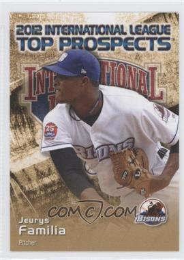 2012 Choice International League Top Prospects #11 - Jeurys Familia