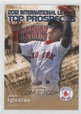 2012 Choice International League Top Prospects #16 - Jose Iglesias