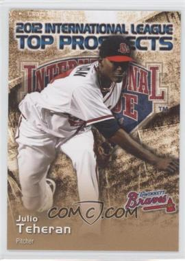 2012 Choice International League Top Prospects #28 - Julio Teheran