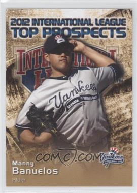 2012 Choice International League Top Prospects #3 - Manny Banuelos