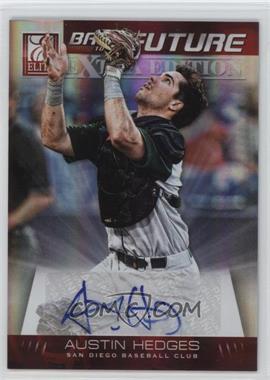 2012 Elite Extra Edition - Back to the Future Signatures #9 - Austin Hedges /210