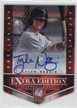 2012 Elite Extra Edition - [Base] - Aspirations Die-Cut Signatures [Autographed] #110 - Tyler Naquin /100