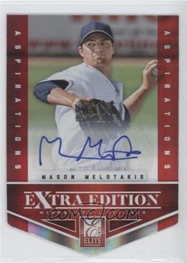 2012 Elite Extra Edition - [Base] - Aspirations Die-Cut Signatures [Autographed] #70 - Mason Melotakis /100