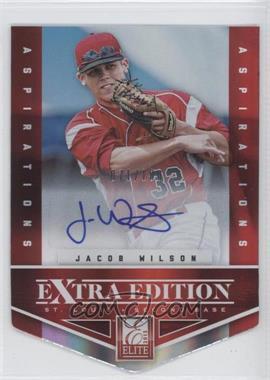 2012 Elite Extra Edition - [Base] - Aspirations Die-Cut Signatures [Autographed] #97 - Jacob Wilson /100