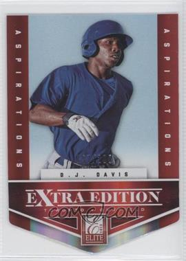 2012 Elite Extra Edition - [Base] - Aspirations Die-Cut #112 - D.J. Davis /200