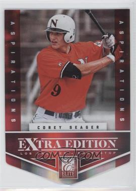 2012 Elite Extra Edition - [Base] - Aspirations Die-Cut #113 - Corey Seager /200