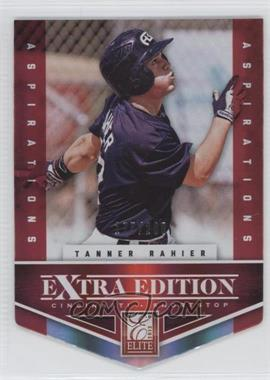 2012 Elite Extra Edition - [Base] - Aspirations Die-Cut #141 - Tanner Rahier /200