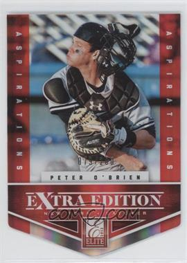 2012 Elite Extra Edition - [Base] - Aspirations Die-Cut #163 - Peter O'Brien /200