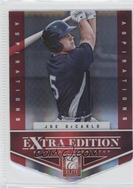 2012 Elite Extra Edition - [Base] - Aspirations Die-Cut #24 - Joe DeCarlo /200