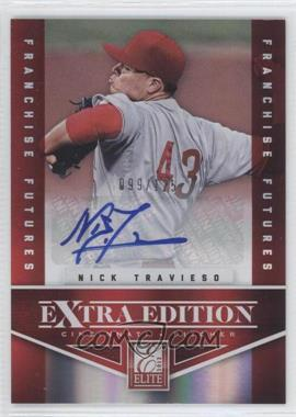 2012 Elite Extra Edition - [Base] - Franchise Futures Signatures [Autographed] #11 - Nick Travieso /125