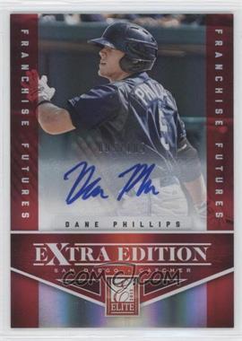2012 Elite Extra Edition - [Base] - Franchise Futures Signatures [Autographed] #20 - Dane Phillips /189
