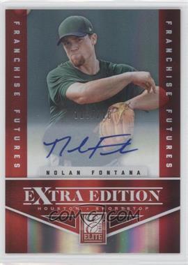 2012 Elite Extra Edition - [Base] - Franchise Futures Signatures [Autographed] #22 - Nolan Fontana /210