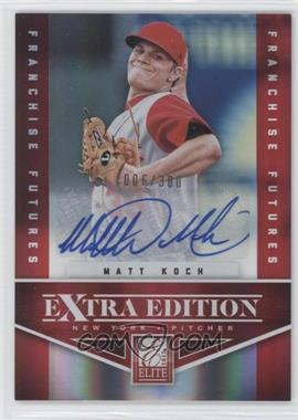 2012 Elite Extra Edition - [Base] - Franchise Futures Signatures [Autographed] #34 - Matt Koch /300