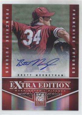 2012 Elite Extra Edition - [Base] - Franchise Futures Signatures [Autographed] #38 - Brett Mooneyham /350