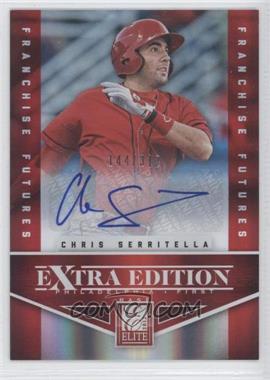 2012 Elite Extra Edition - [Base] - Franchise Futures Signatures [Autographed] #53 - Chris Serritella /312