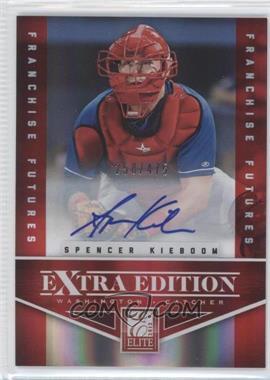 2012 Elite Extra Edition - [Base] - Franchise Futures Signatures [Autographed] #59 - Spencer Kieboom /475