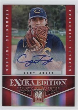 2012 Elite Extra Edition - [Base] - Franchise Futures Signatures [Autographed] #61 - Cory Jones /781