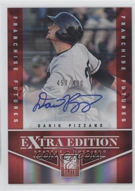 2012 Elite Extra Edition - [Base] - Franchise Futures Signatures [Autographed] #73 - Dario Pizzano /490