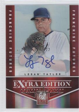 2012 Elite Extra Edition - [Base] - Franchise Futures Signatures [Autographed] #74 - Logan Taylor /712