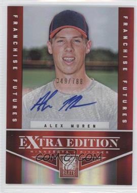 2012 Elite Extra Edition - [Base] - Franchise Futures Signatures [Autographed] #79 - Alex Muren /788