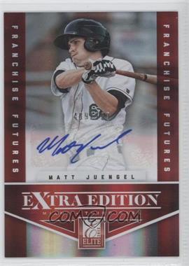 2012 Elite Extra Edition - [Base] - Franchise Futures Signatures [Autographed] #85 - Matt Juengel /799