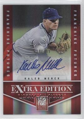 2012 Elite Extra Edition - [Base] - Franchise Futures Signatures [Autographed] #86 - Kaleb Merck /799