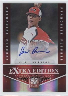 2012 Elite Extra Edition - [Base] - Franchise Futures Signatures [Autographed] #88 - J.O. Berrios /175