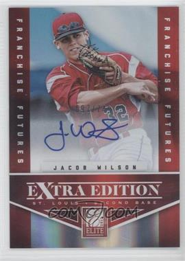 2012 Elite Extra Edition - [Base] - Franchise Futures Signatures [Autographed] #97 - Jacob Wilson /749