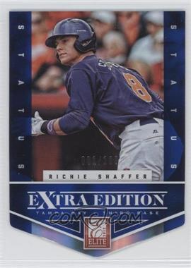 2012 Elite Extra Edition - [Base] - Status Blue Die-Cut #120 - Richie Shaffer /100