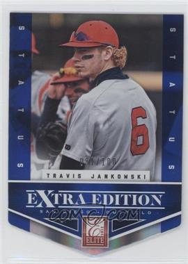 2012 Elite Extra Edition - [Base] - Status Blue Die-Cut #150 - Travis Jankowski /100