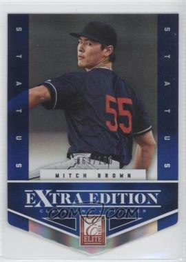 2012 Elite Extra Edition - [Base] - Status Blue Die-Cut #163 - Peter O'Brien /100