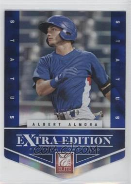 2012 Elite Extra Edition - [Base] - Status Blue Die-Cut #2 - Albert Almora /100