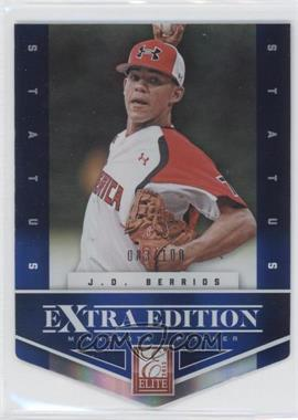 2012 Elite Extra Edition - [Base] - Status Blue Die-Cut #88 - J.O. Berrios /100