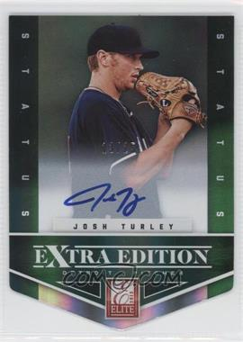 2012 Elite Extra Edition - [Base] - Status Emerald Die-Cut Signatures [Autographed] #184 - Josh Turley /25