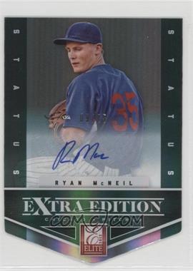 2012 Elite Extra Edition - [Base] - Status Emerald Die-Cut Signatures [Autographed] #33 - Ryan McNeil /25
