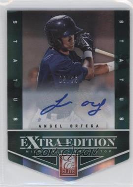 2012 Elite Extra Edition - [Base] - Status Emerald Die-Cut Signatures [Autographed] #93 - Angel Ortega /25
