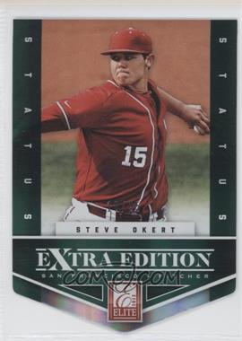2012 Elite Extra Edition - [Base] - Status Emerald Die-Cut #172 - Steve Okert /25