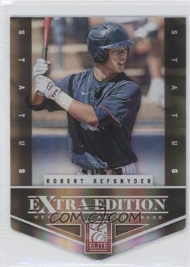 2012 Elite Extra Edition - [Base] - Status Gold Die-Cut #21 - Robert Refsnyder /5