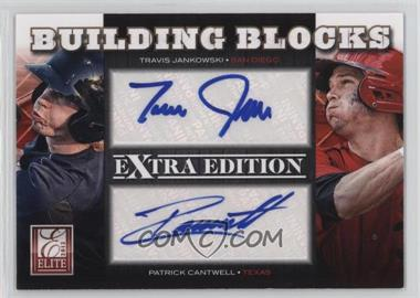 2012 Elite Extra Edition - Building Blocks Dual - Signatures #13 - Patrick Cantwell, Travis Jankowski /49