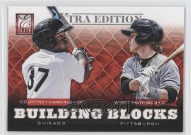 2012 Elite Extra Edition - Building Blocks Dual #10 - Courtney Hawkins, Wyatt Mathisen