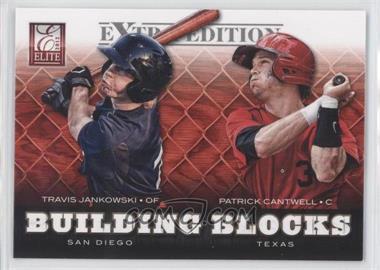 2012 Elite Extra Edition - Building Blocks Dual #13 - Patrick Cantwell, Travis Jankowski