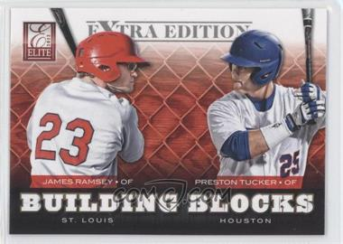 2012 Elite Extra Edition - Building Blocks Dual #17 - Preston Tucker, James Ramsey