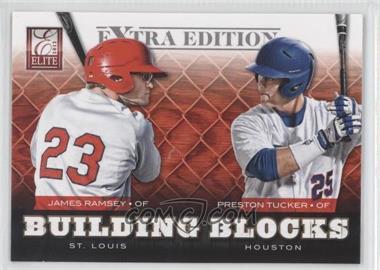 2012 Elite Extra Edition - Building Blocks Dual #17 - Preston Tucker, James Ramsey