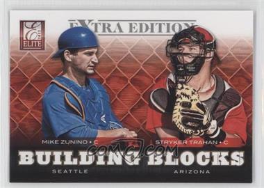2012 Elite Extra Edition - Building Blocks Dual #19 - Mike Zunino, Stryker Trahan