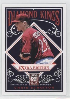 2012 Elite Extra Edition - Diamond Kings #DK-14 - Chris Stratton